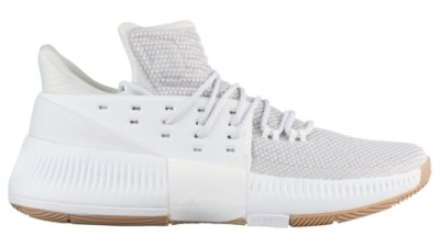 big sale 6f343 c08ab The adidas Dame 3 in WhiteGum Releases in March