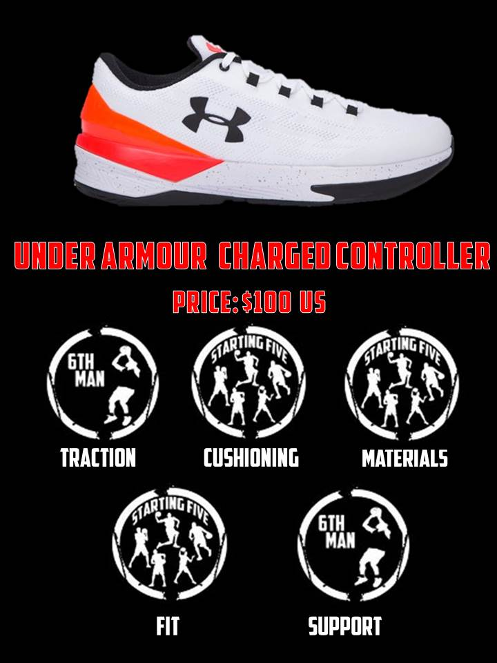 Under Armour Charged Controller Performance Review - Duke4005 ... 91448babb