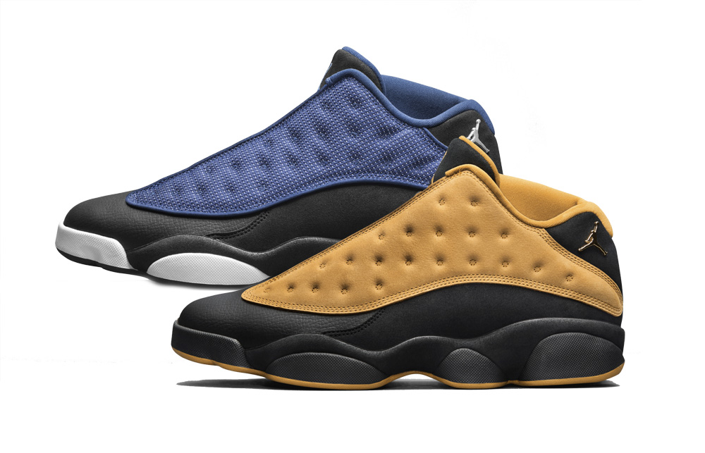 b99518989b745f Air Jordan 13 Retro Low Brave Blue-Chutney - WearTesters