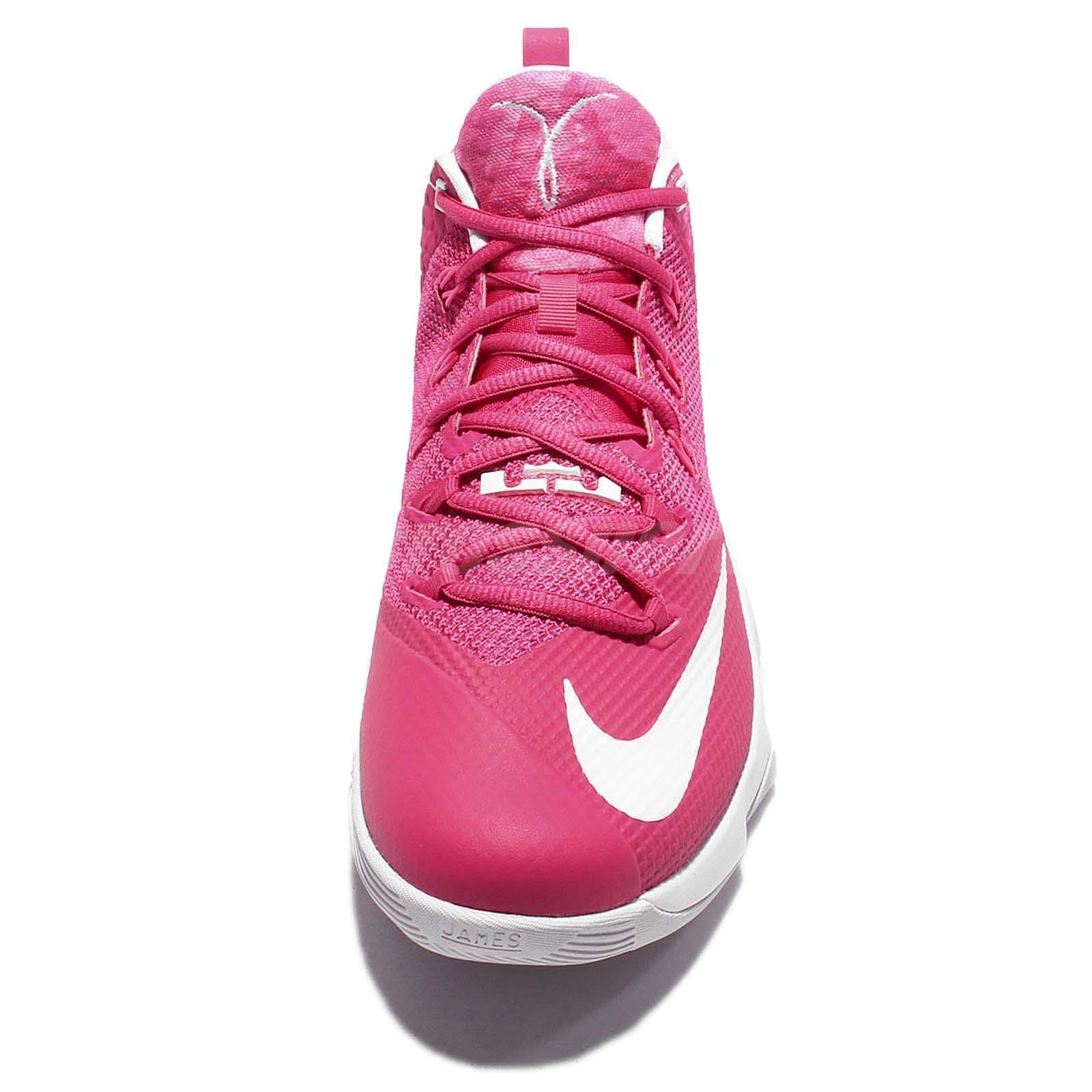 88edf74b8898c Nike Lebron Ambassador 9 - Kay Yow - Front - WearTesters