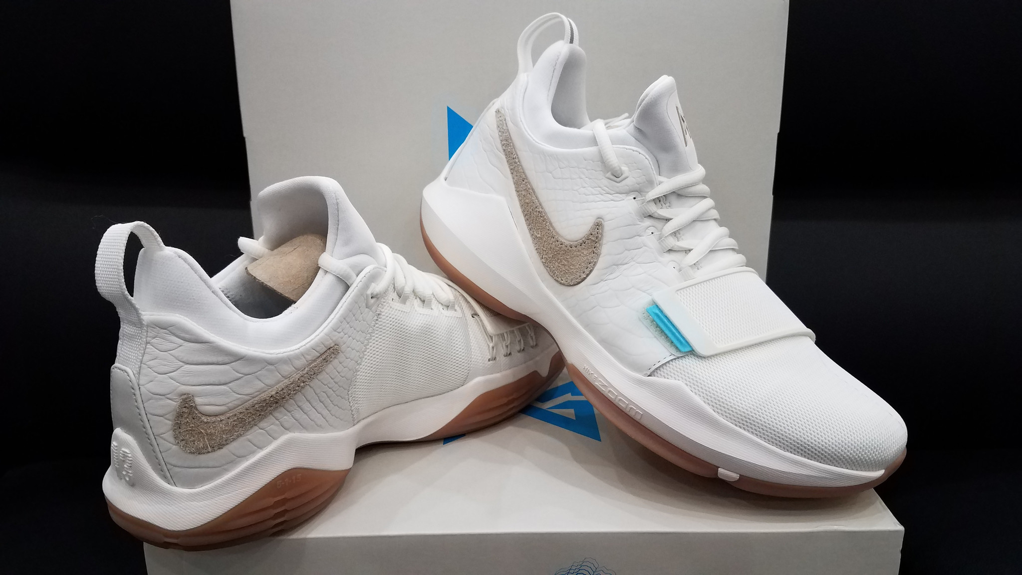 93f597951bb ... paul george ivory oatmeal gum light brown women basketball shoes 878628  dd0d3 52301  italy nike pg 1 ivory 3 d05c4 e2349