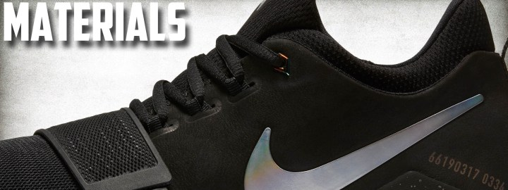 f8af1fa9b7c Materials – This is one of the best material options we ve had from Nike  Basketball in a long time. It offers a little bit of everything