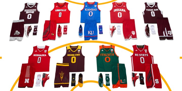e3ca2711ba0 adidas Unveils New Men's and Women's Uniforms for the NCAA ...