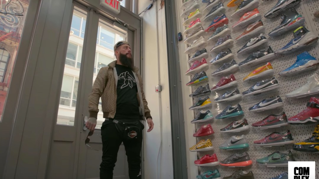 Complex Goes Sneaker Shopping With Enzo Amore Weartesters