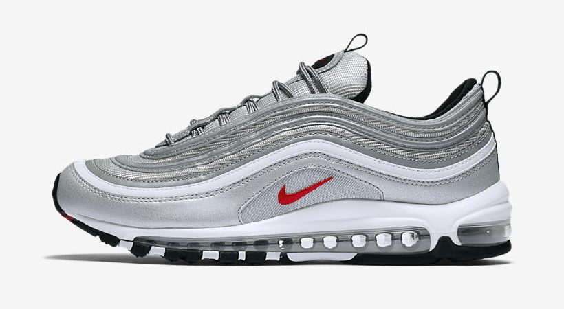 Nike Air Max 97 'Silver Bullet' ($160) Men's: Nikestore | Foot Locker | Champs | Eastbay | Footaction | Shoe Palace | Ruvilla | Shiekh Shoes | ...