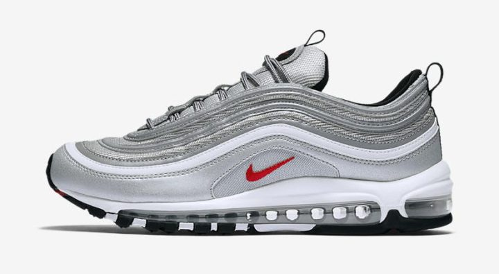new style 2aa81 5c889 Nike Air Max 97  Silver Bullet  ( 160) Men s  Nikestore   Foot Locker    Champs   Eastbay   Footaction   Shoe Palace   Ruvilla   Shiekh Shoes   ...