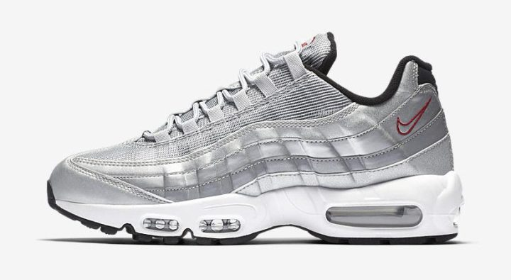 new style 6a108 73e90 Nike Air Max 95  Silver Bullet  ( 160)  Nikestore   Shoe Palace   Ruvilla