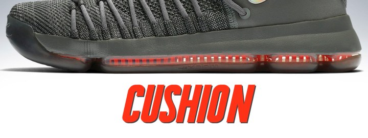 becf77c02386 Cushion  Here s another category where Nike didn t change anything from the  original KD 9 — and we re perfectly okay with that. The full-length  articulated ...
