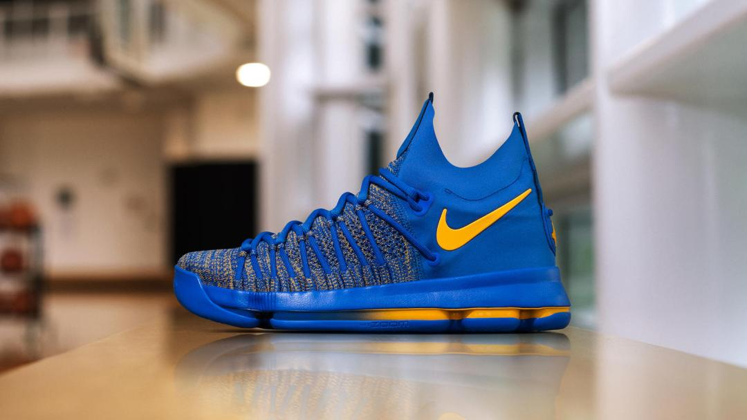 b22ae1b4059b Nike Gears up the KD 9 Elite for the Playoffs with a Special PE ...