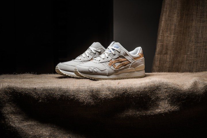 asics gel-lyte iii birch tan denim 1