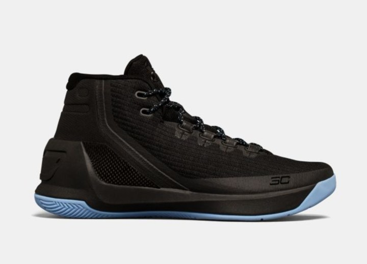 under armour curry 3 black light blue 1