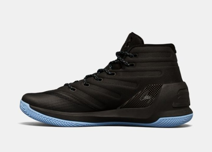under armour curry 3 black light blue 2