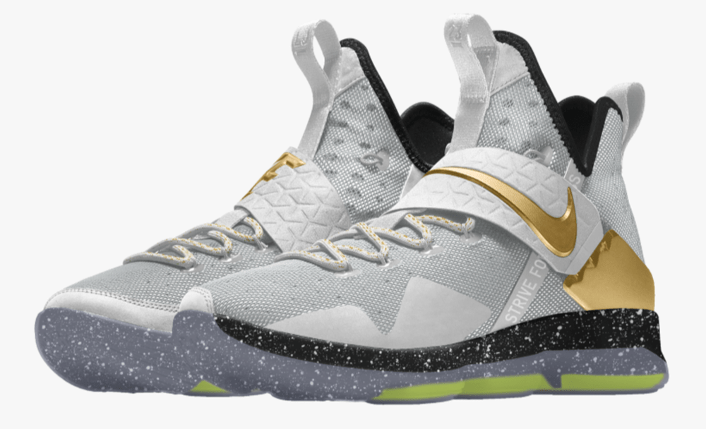 best deals on 6d933 aefd6 The Nike LeBron 14 is Now Available for Customization on NIKEiD ...