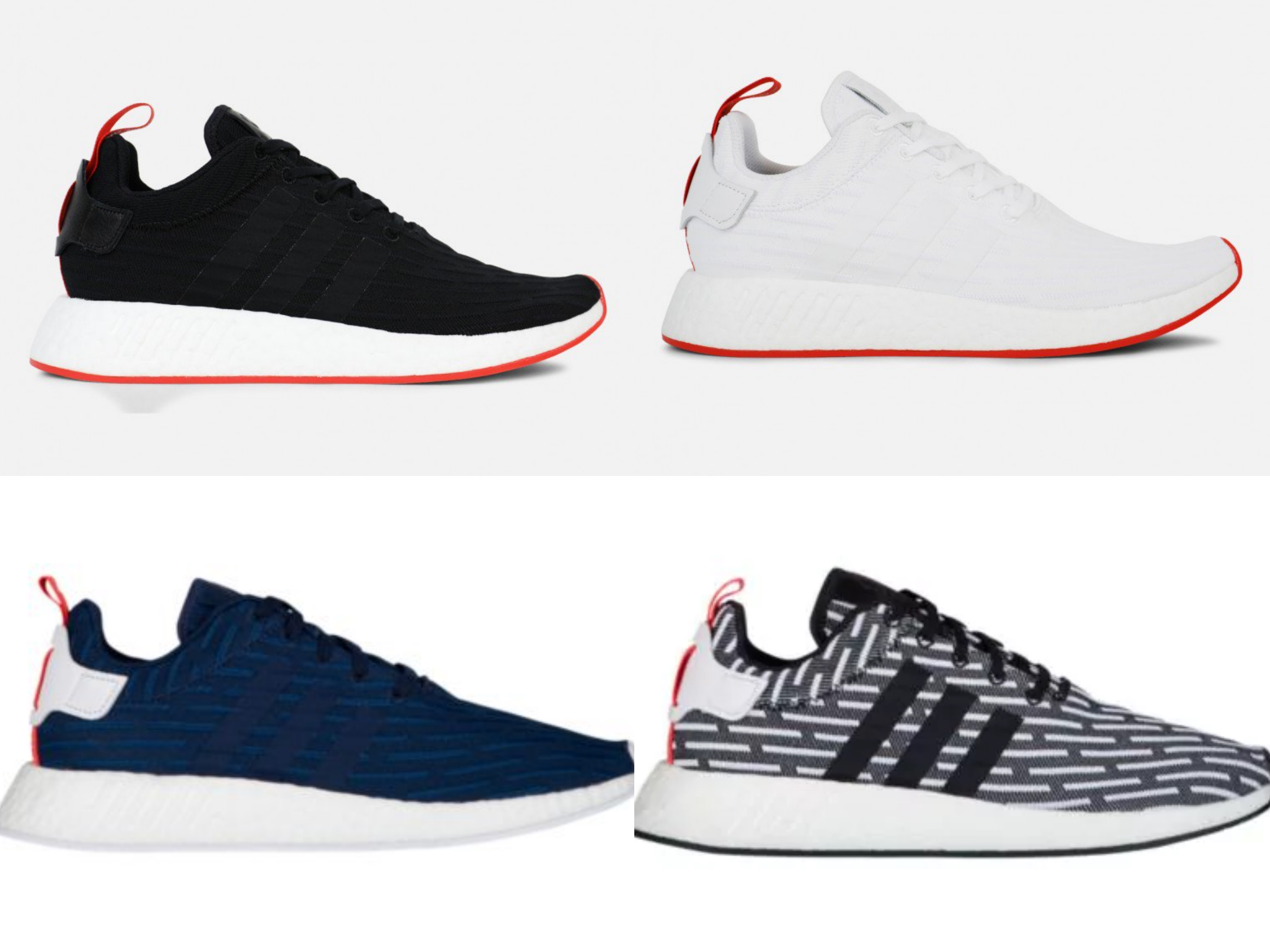 adidas will be dropping these three new nmd r2 colorways in