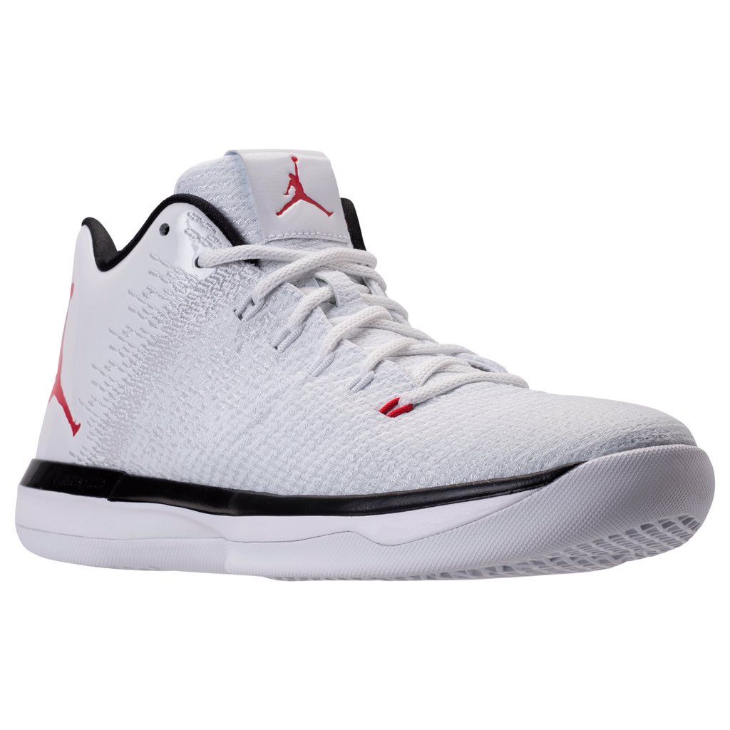 reputable site 4d8a9 9720e The Air Jordan 31 Low in White/Red Releases at the End of June ...