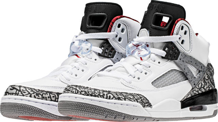 free shipping 232eb 9522f The Jordan Spiz ike in White Cement Has Returned - WearTesters