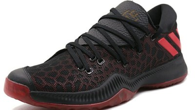 adidas harden be black red 5