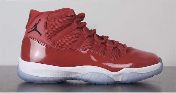 A Detailed Look at the Upcoming Air Jordan XI  Gym Red  - WearTesters d5b916d3a