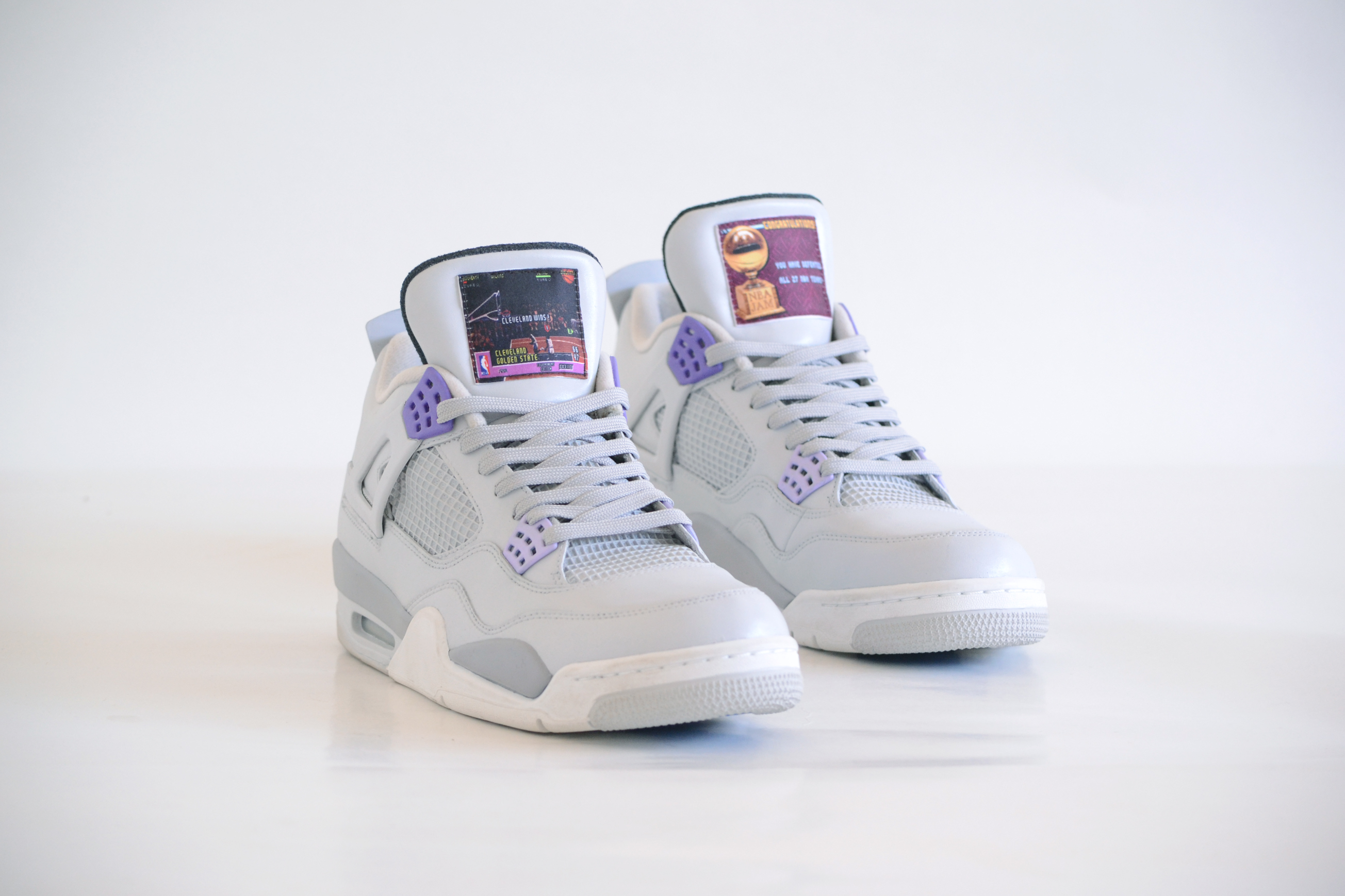 b770c7f7cfbb75 air jordan 4 x snes 1 · Basketball   Customs   Jordan Brand   Kicks Off  Court   Lifestyle ...