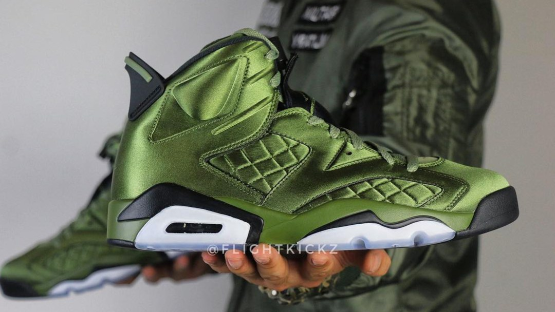 92dbedc4989276 The Air Jordan 6 Pinnacle  Flight Jacket  May Be the Gaudiest AJ6 ...