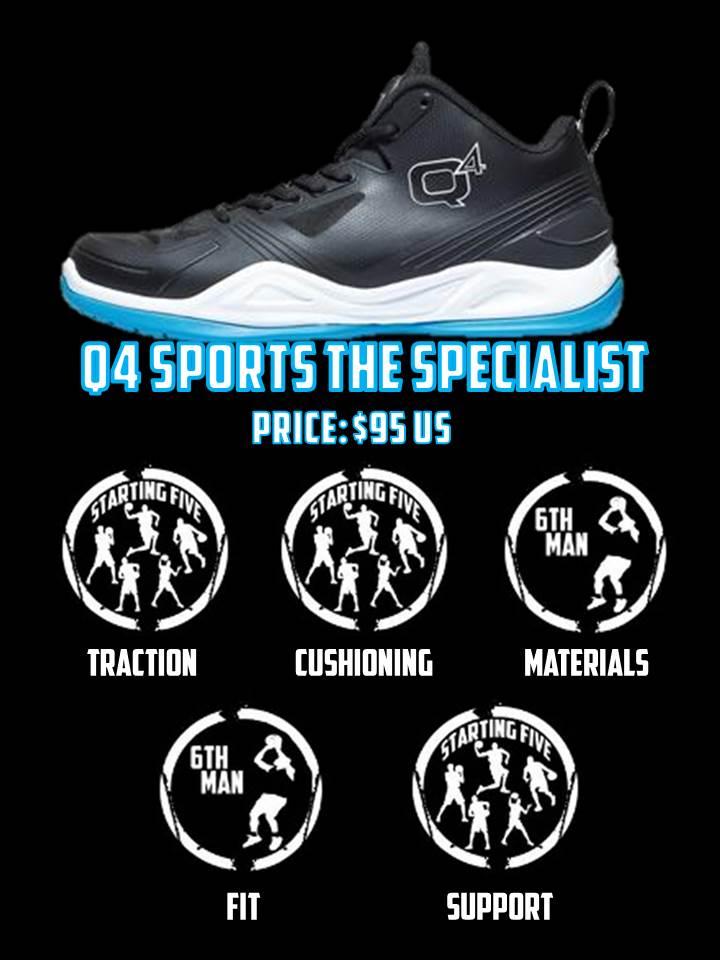 q4 sports specialist card