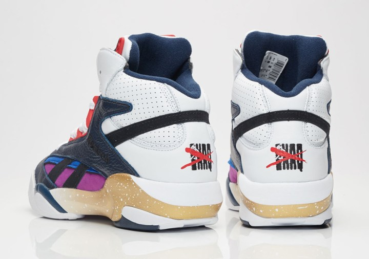 """508851ed6981 You can cop the Shaq Attaq """"Dream Team Snub"""" at select Reebok Classic  retailers now for  160."""