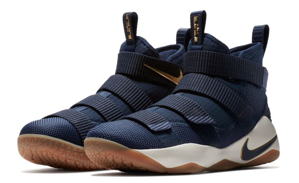 new style e3456 921ac This Nike LeBron Soldier 11 is Ready to  DefendTheLand - WearTesters
