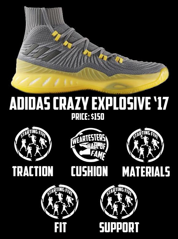 designer fashion 2f40b 30623 adidas crazy explosive 2017 primeknit scorecard