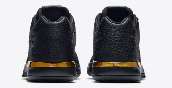 9ed3514410d1 air jordan 31 low black-gold 5 - WearTesters