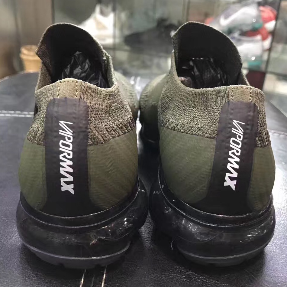 915356173e nike air vapormax laceless olive 7 - WearTesters