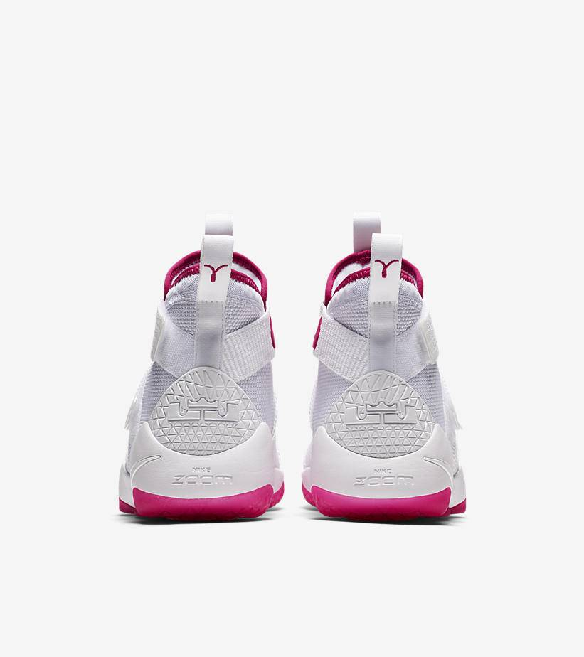 new arrival 19233 d1ecc nike lebron soldier 11 kay yow breast cancer awareness 5