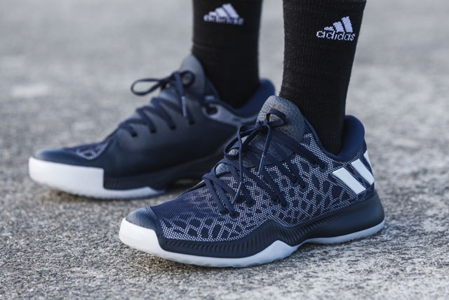 c46134f7598 The team shoe applies the overall concept and design from the original  adidas Harden Vol. 1 with a more budget friendly approach. Although it is a  takedown ...