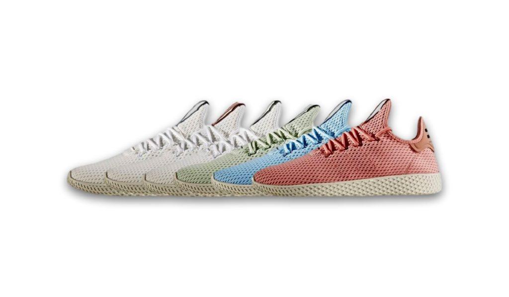 560500987832d The Pharrell Williams x adidas Tennis HU  Pastel Pack  Has Dropped ...