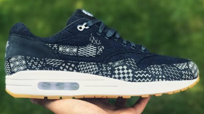 03c55bf329 New 'Indigo Collection' Options Added on the NIKEiD Air Max 1