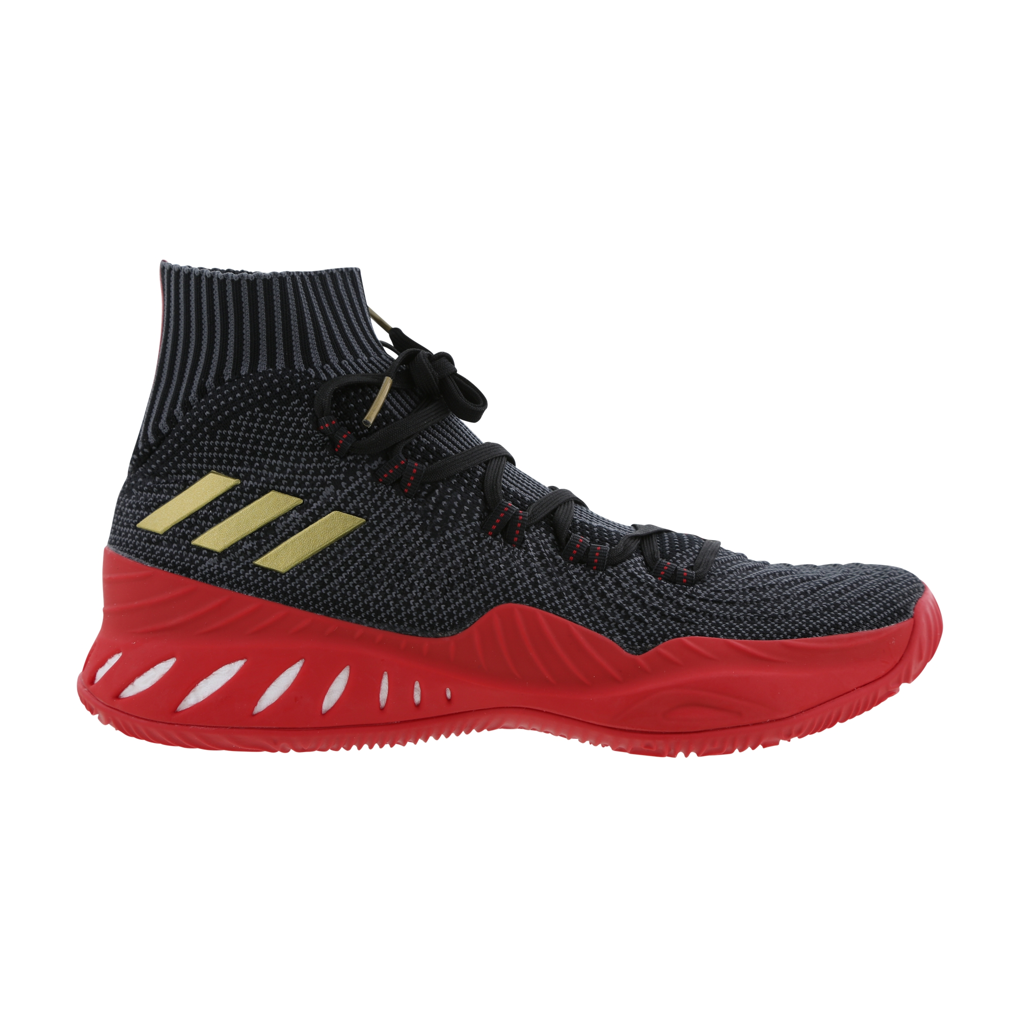 cfc22a2cbfe adidas Crazy Explosive 2017 black gold scarlet 1 · adidas   Kicks On Court  ...