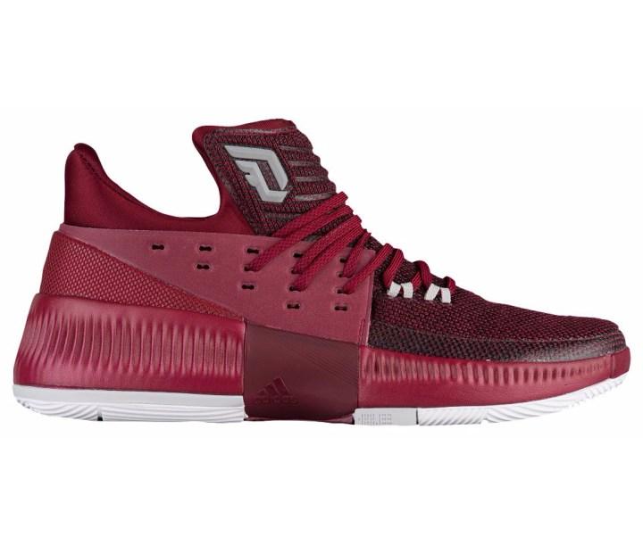 san francisco a8d4b 27e21 adidas dame 3 maroon