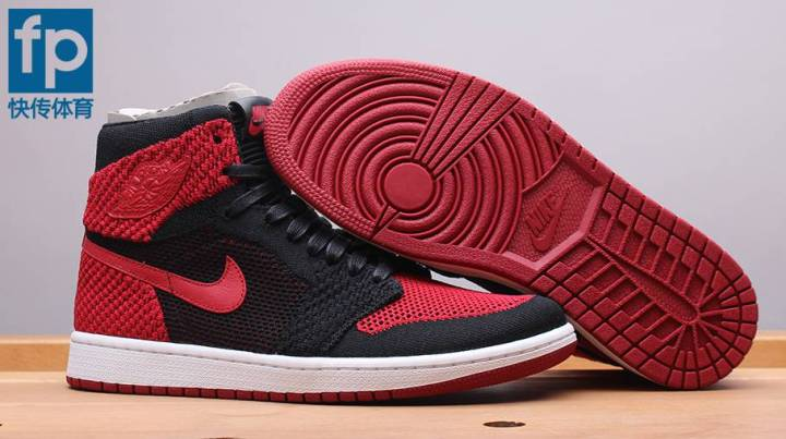 7603bc1592b An In-Depth Look at the Air Jordan 1 Flyknit  Bred  - WearTesters