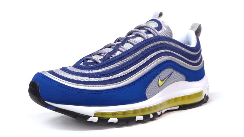 detailed look bcf3a 7f805 The Air Max 97 'Atlantic Blue' Launched Alongside a Familiar Neon ...