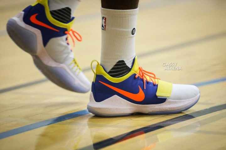d0ea03f10ed5 Paul George Spotted in an OKC-Themed PG1 - WearTesters