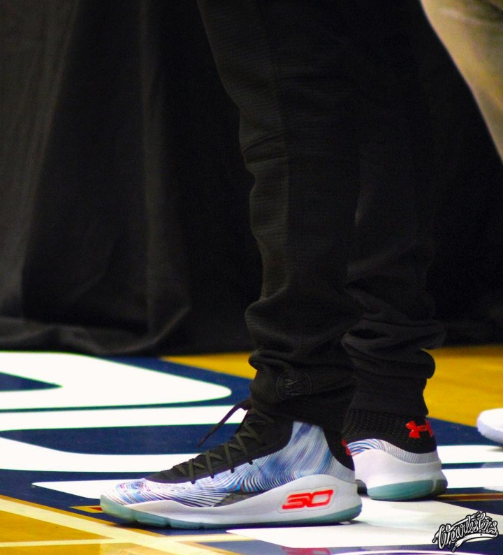 2d07dace0beae5 Steph Curry Flaunts a China-Exclusive Curry 4 Colorway at the SC30 ...