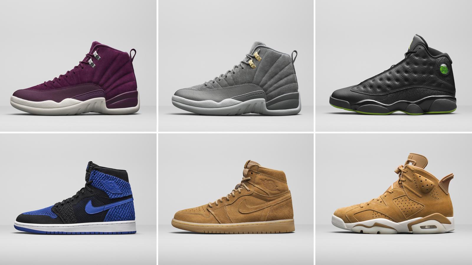d457649dc97749 Jordan Brand Unveils New Retro Colorways For The Holiday Season22 · Jordan  Brand   Kicks Off Court   Kicks On Court   Nike ...