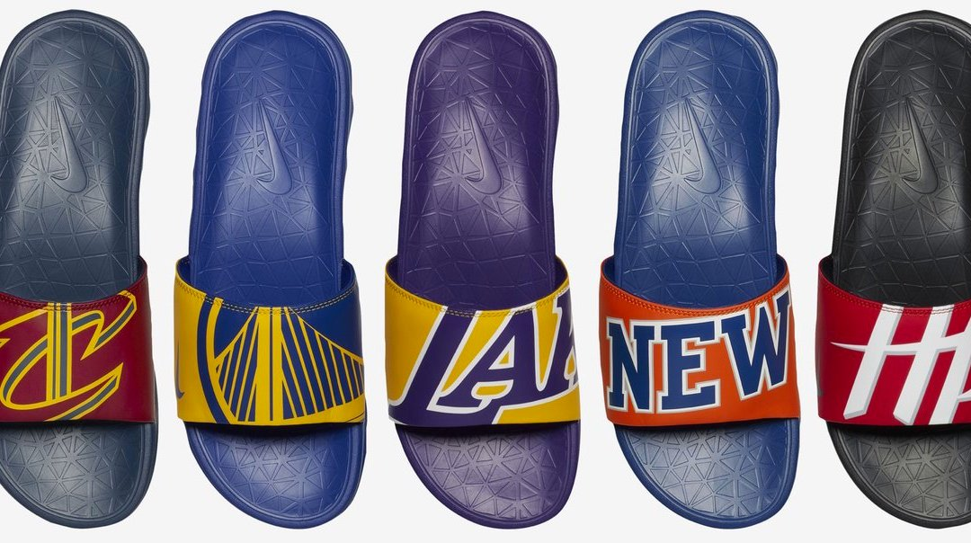 87179e543f353 Nike to Release NBA Team Solarsoft Slides to Match its New Jerseys ...