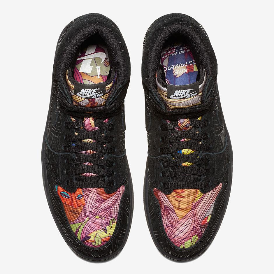 POMP x Air Jordan 1 Retro High OG Los Primeros - Release Info 4 ... b6197b7f8
