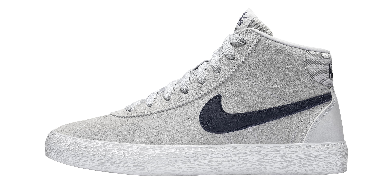 bca6076493b7 Women s Nike SB Bruin High skate shoe 10 - WearTesters