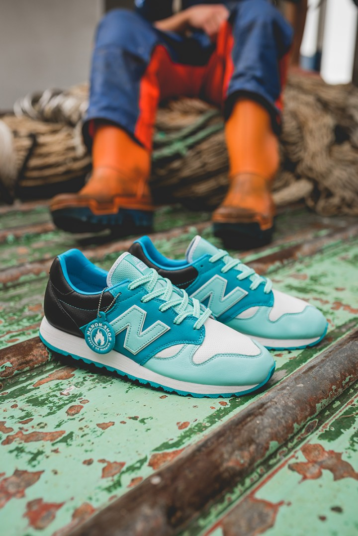 hanon new balance U520HNF fishermans blues 11