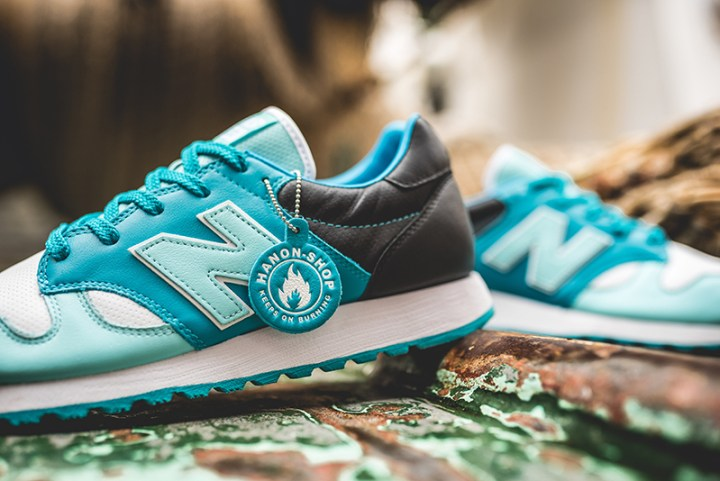hanon new balance U520HNF fishermans blues 3