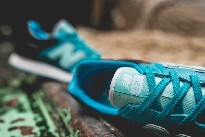 hanon new balance U520HNF fishermans blues 5