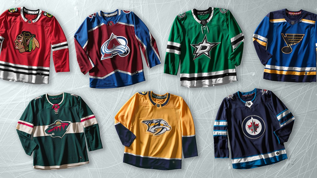 adidas and NHL Unveil New adizero Authentic Pro Hockey Jerseys ... 5cce861e9ea