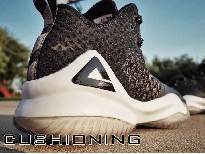PEAK streetball master performance review cushioning
