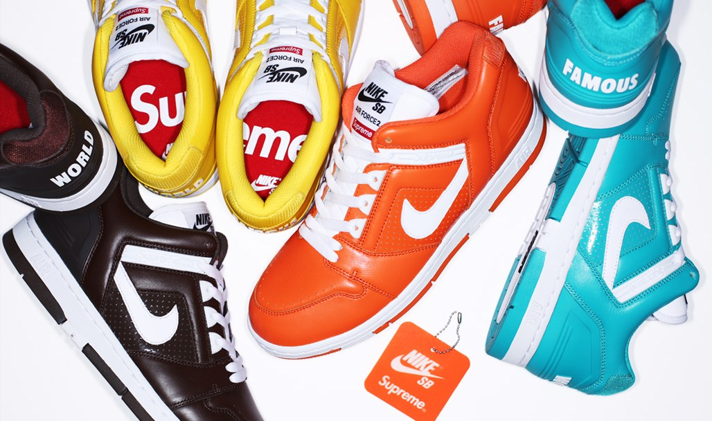ed0d4af64de8e Supreme and Nike SB Have Resurrected the Air Force 2 - WearTesters
